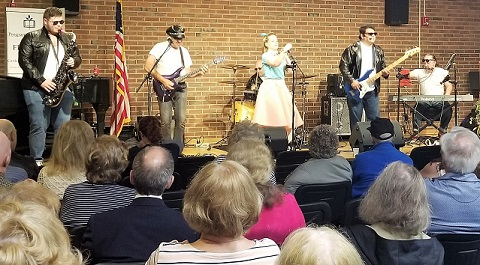 The History of Rock & Roll had the audience rockin' and rollin' at the Friends Annual Meeting on 6/20/19