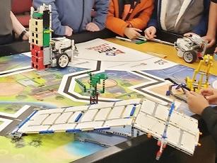 photo of robotics table at 'Robo Expo' on 02/24/2020
